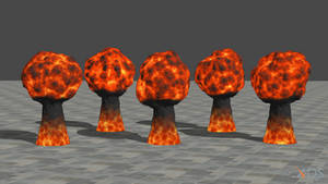 Explosions for XNALara/XPS