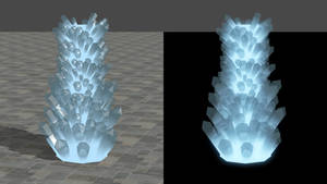 Mineral Crystal for XNALara/XPS by dasliebesverbot
