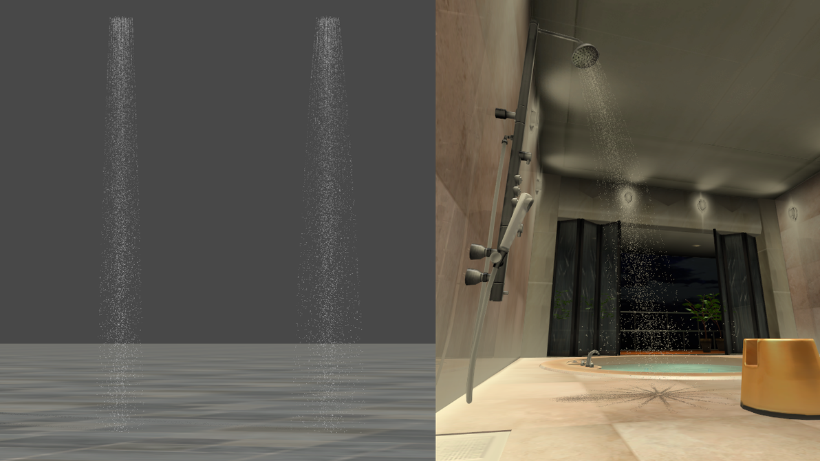 Shower Water Streams For Xps By Dasliebesverbot On Deviantart