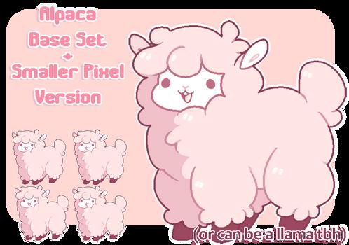 [ BASE ] Alpaca Set + Pixel Set