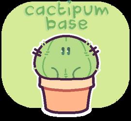 Cactipum Base - P2U by plushpon