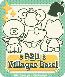 P2U Animal Crossing Villager Base