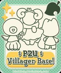 P2U Animal Villager Base by plushpon