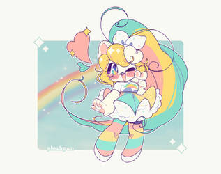 rainbows and sparkles by plushpon