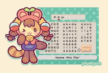 plushpon mascot by plushpon