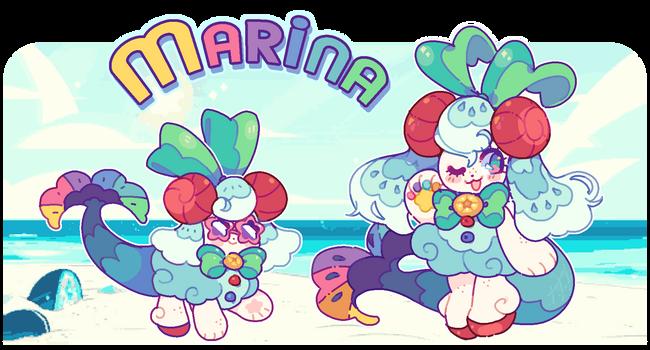 marina, take 2! by plushpon