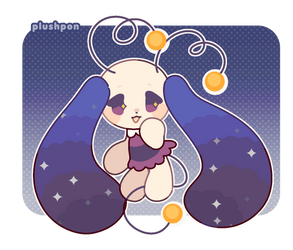 a squishy friend of the stars by plushpon