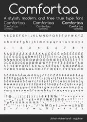 Comfortaa - font