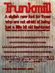 Trunkmill - Font