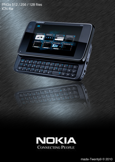 Nokia N900 Icon by made-Twenty9