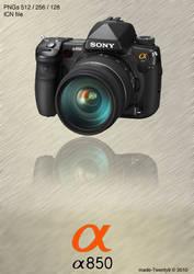 Sony Alpha a850 Icon by made-Twenty9