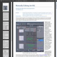 Tutorial: Manually Editing OBJs by deslea