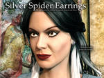 Free 3D Prop: Narcissa's Silver Spider Earrings