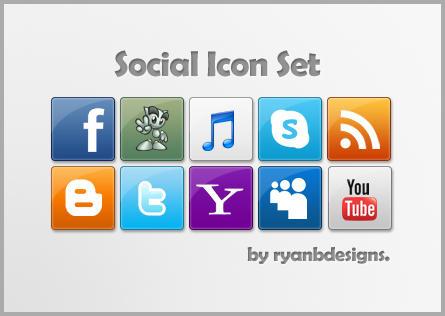 Social Set by ryanbdesigns