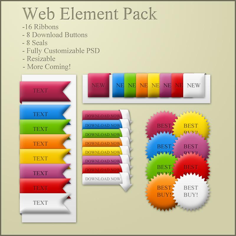 Web Element Pack