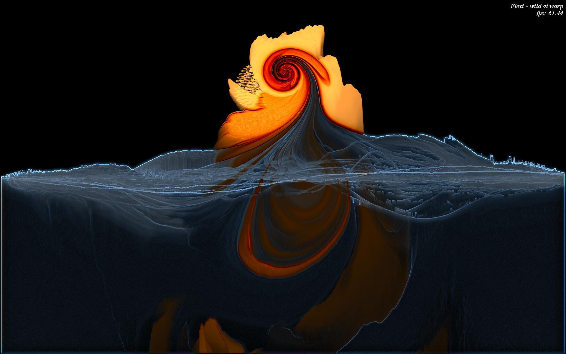 Warp Shader Vortex by a-musing-discordian