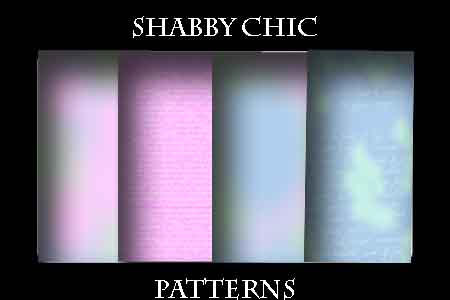 Shabby Chic patterns by stoneangel3