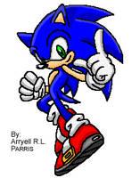 Sonic Push-up Sprites [Custom] Animated by SonicDBZFan4125