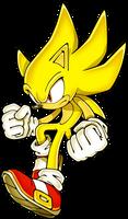 Super Sonic Transformation by SonicDBZFan4125