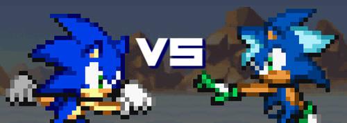 Mini Flash #5 - Sonic Vs Zack by SonicDBZFan4125