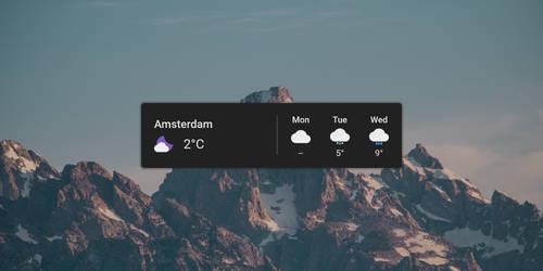Google Weather (JD Edition) by Jelle Dekkers by AJ-Dekkers