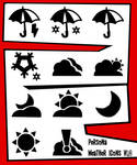 Persona 5 Weather Icons