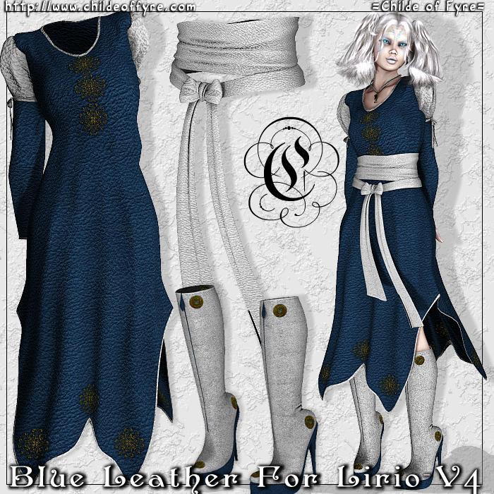 Blue Leather for Lirio V4