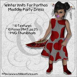 Winter Knits : Maddie Dress