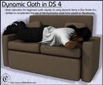 COF Tutorial : Dynamic Cloth Basics in DS 4