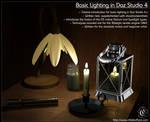 Tutorial : Basic Lighting in Daz Studio 4.x