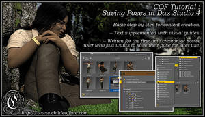 COF Tutorial : Saving Poses in DS4
