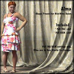 COF Alma (Daz Studio)