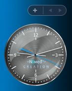 Vista Sidebar Clock by Nemed