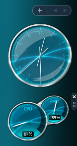 Aero CPU Gadget by Nemed