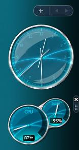 Aero CPU Gadget