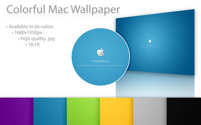 Colorful Mac Wallpaper by Nemed