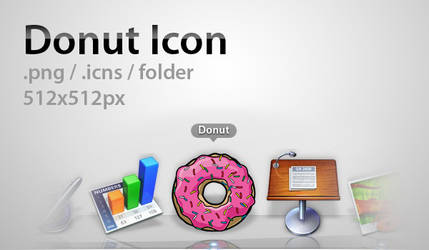 Donut Icon by Nemed