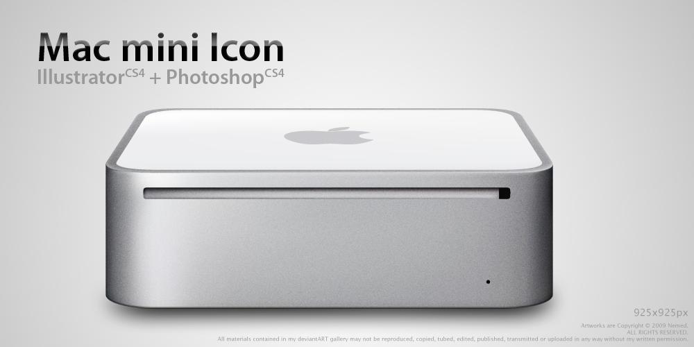Mac mini Icon by Nemed