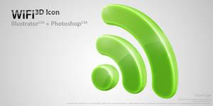 WiFi 3D Icon