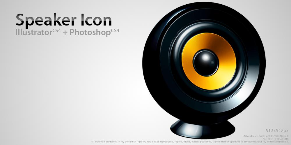 Speaker Icon by Nemed