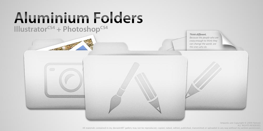 Aluminium Folders