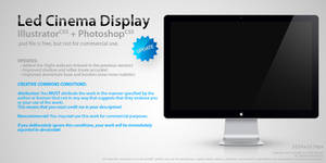 Led Cinema Display .psd