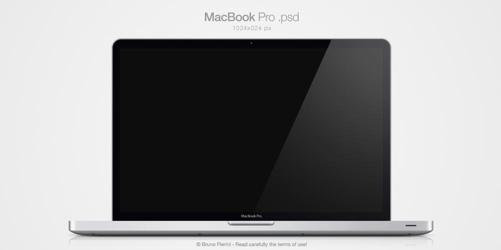 MacBook Pro .psd by Nemed