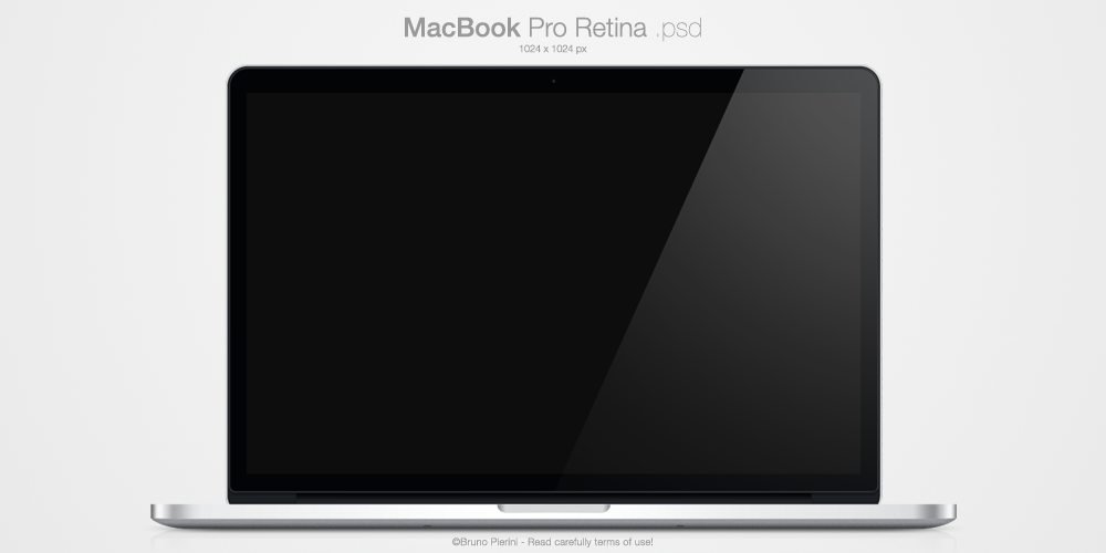 MacBook Pro Retina .psd by Nemed