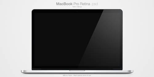 MacBook Pro Retina .psd by Nemed