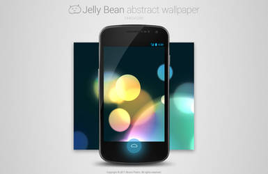 Jelly Bean Abstract Wallpaper