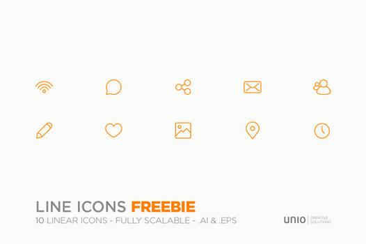 Line Icons - Freebie