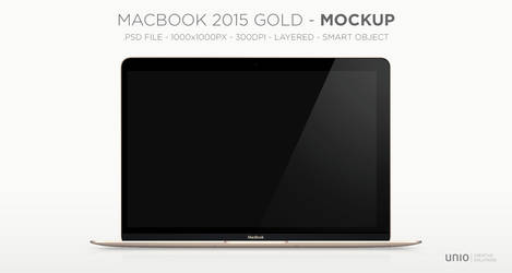 MacBook 2015 Mockup
