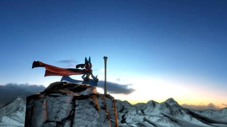 Lucario-Mountain-Rest