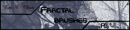 Fractal brushes